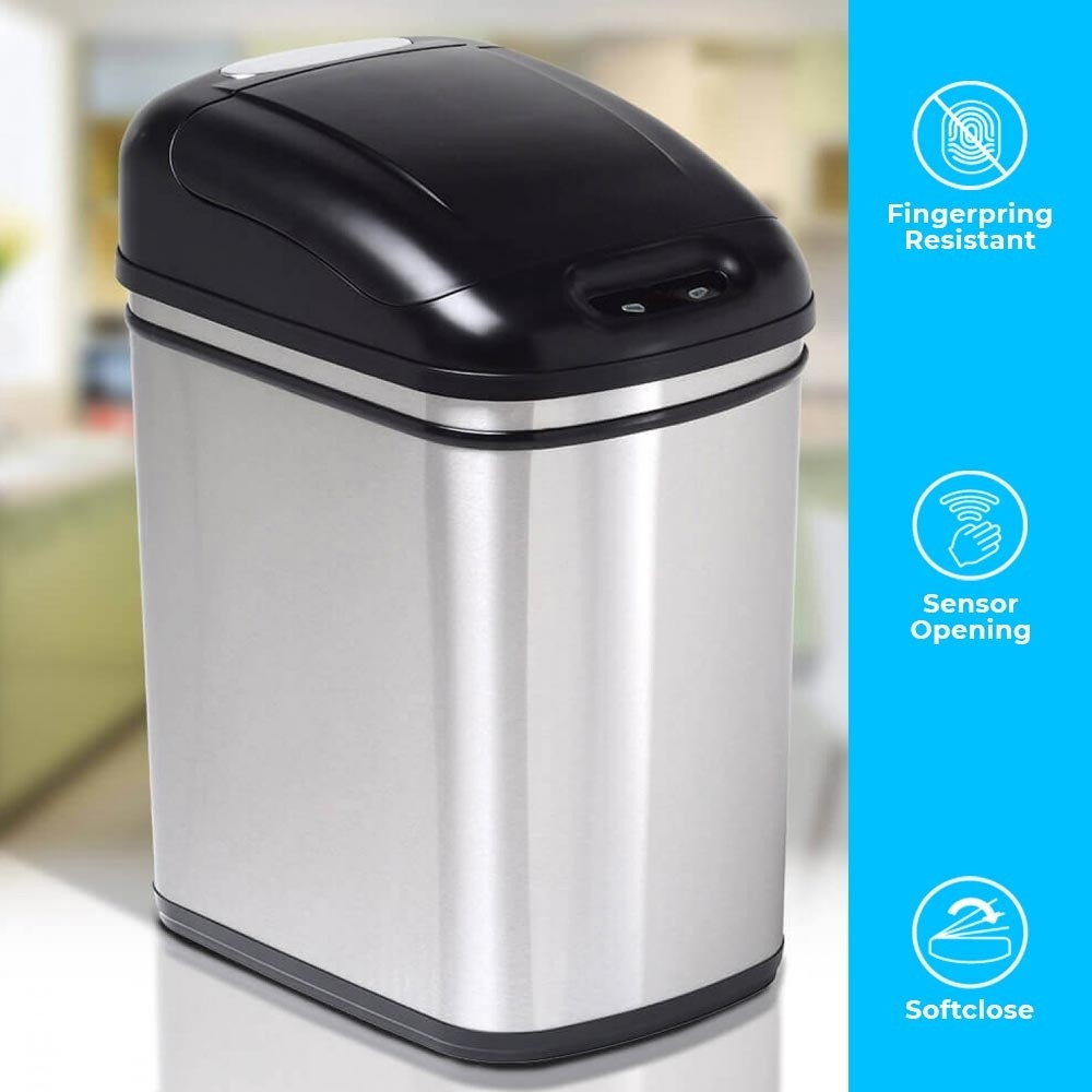 24 Litre Original Series Stainless Steel Autobin