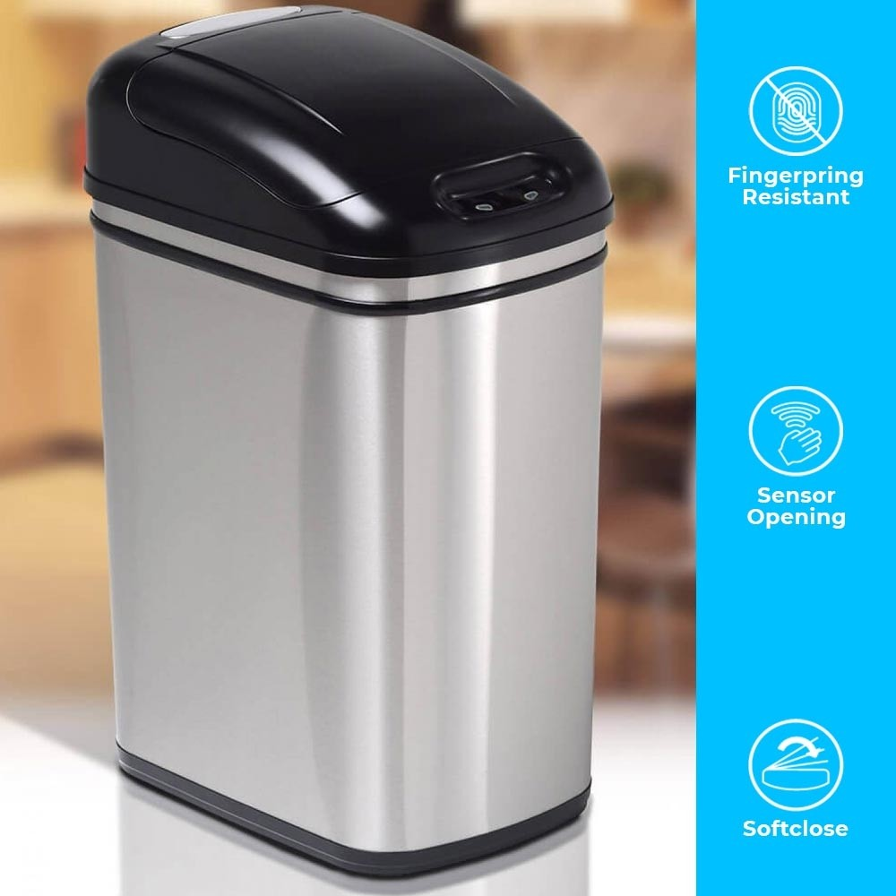 The 32-litre Original Series is our most advanced and contemporary midrange capacity stainless steel infrared smart bin.