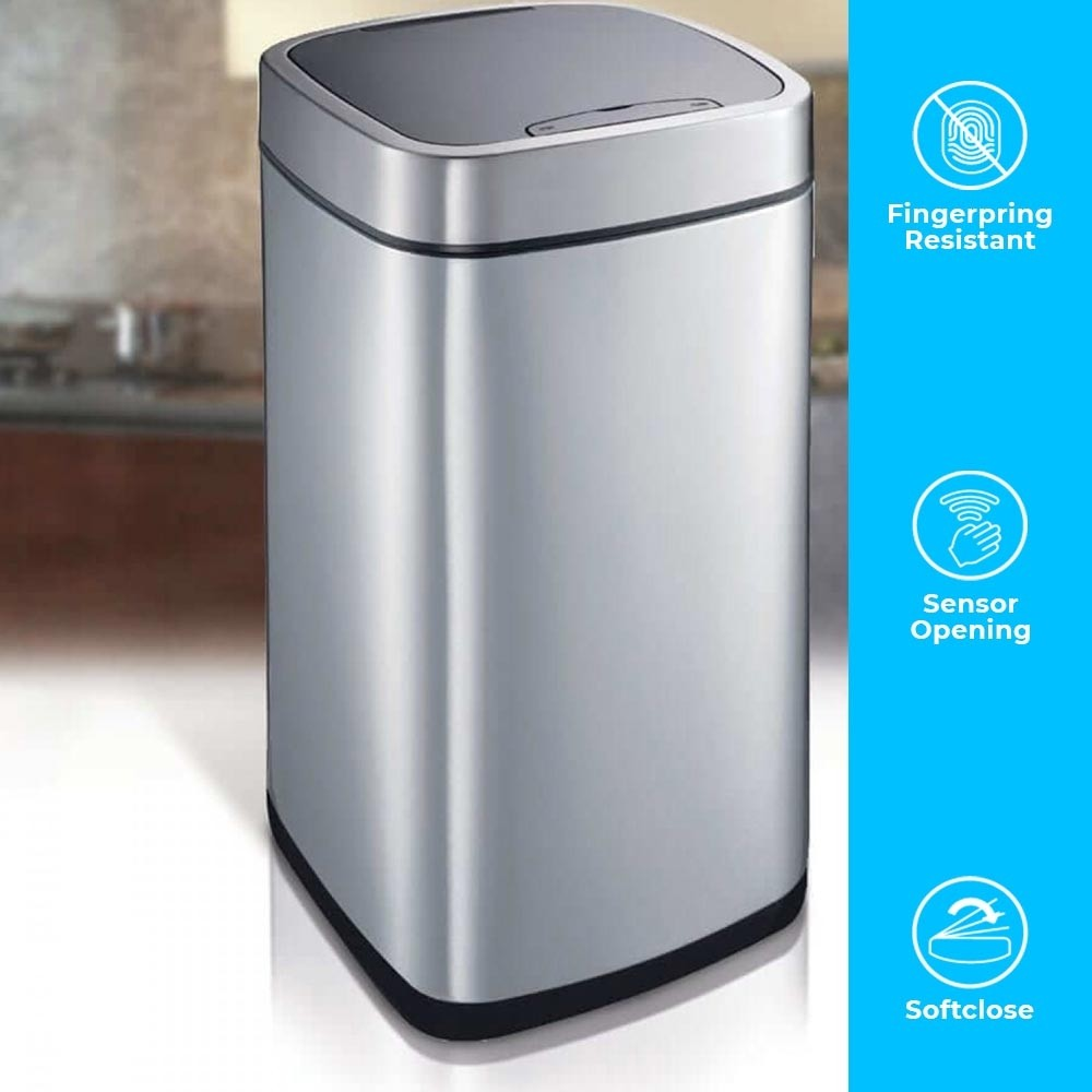 PERFECT 35 LITRE AUTOBIN - FINGERPRINT RESISTANT