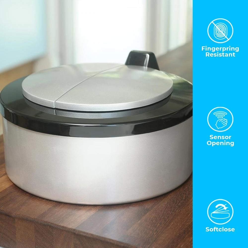 2 Litre Ladybird Countertop Food Caddy Autobin