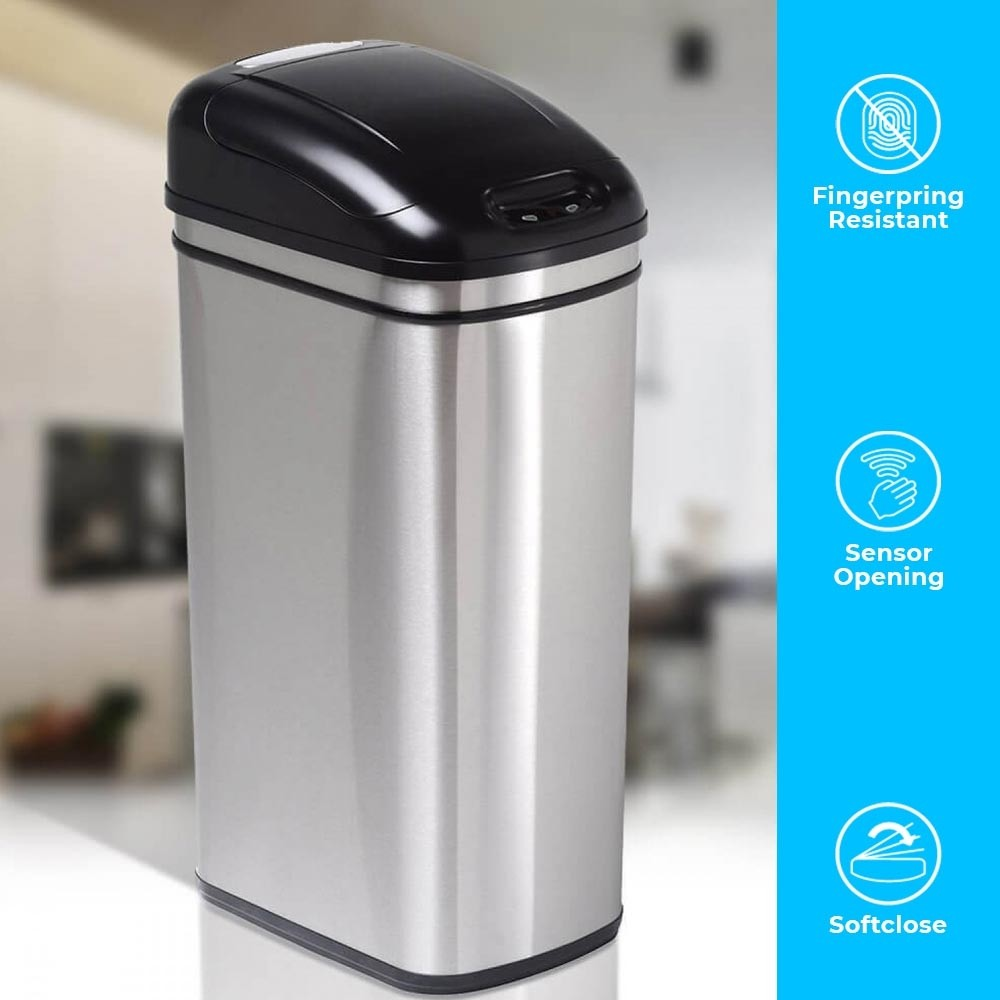 50 Litre Original Series Stainless Steel Autobin