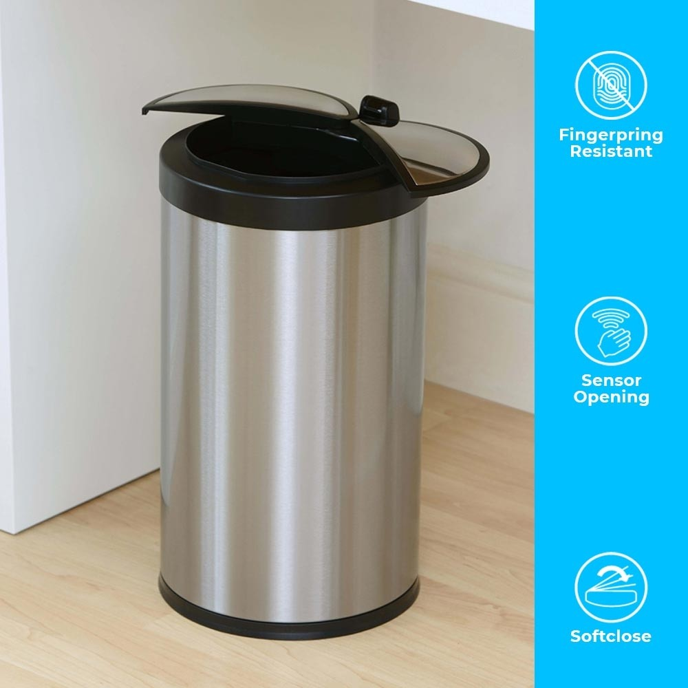 A smart sensor dustbin that is small, compact and perfect in every way.