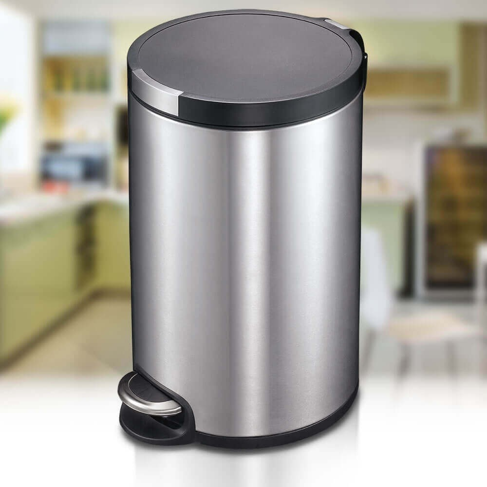 ARTISTIC 20 LITRE AUTOBIN - SMALL KITCHEN RUBBISH BIN