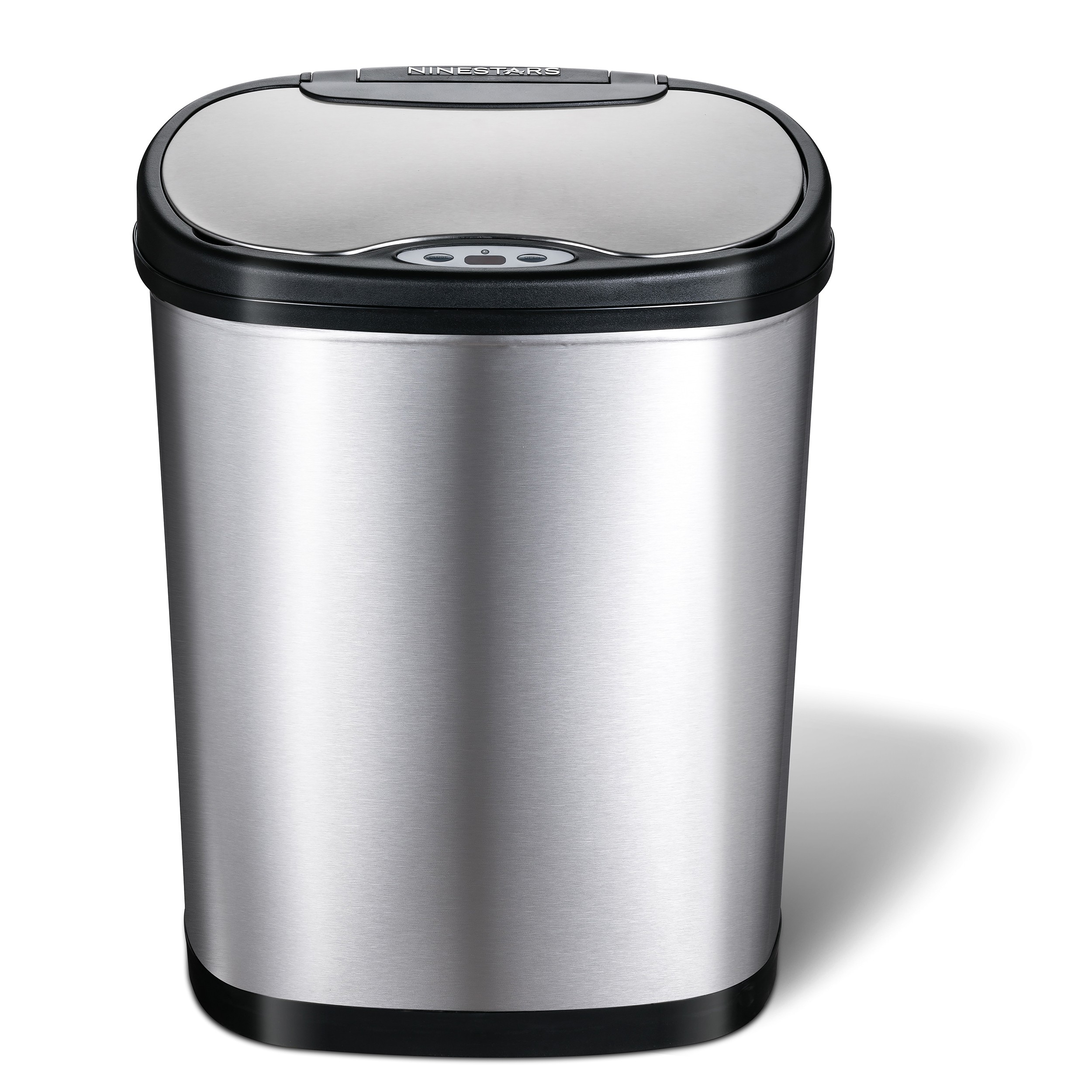 42 Litre Oval Plus Series Stainless Steel Autobin