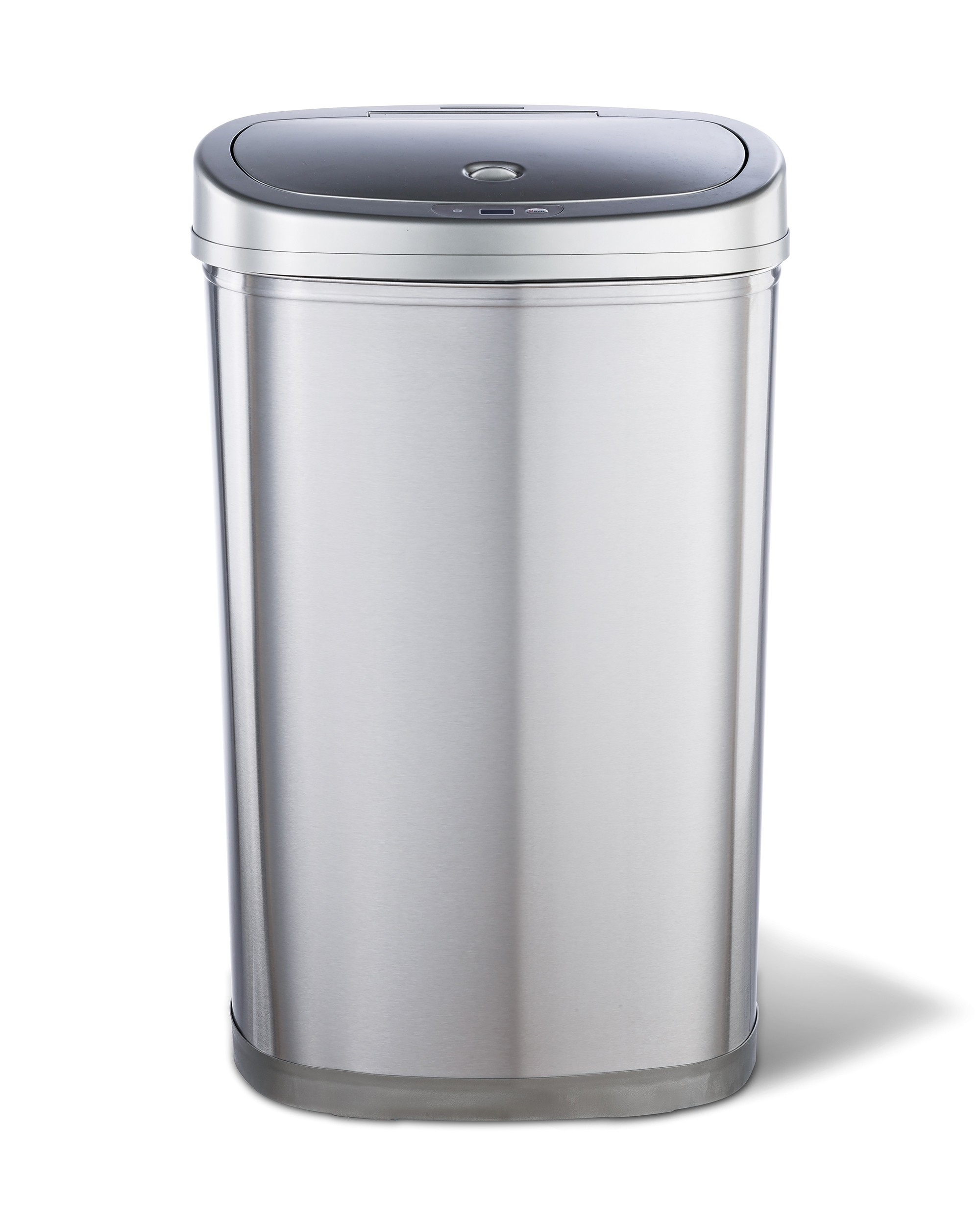 50 Litre Smart Autobin Oblong stainless steel kitchen waste bin with self-opening and closing lid